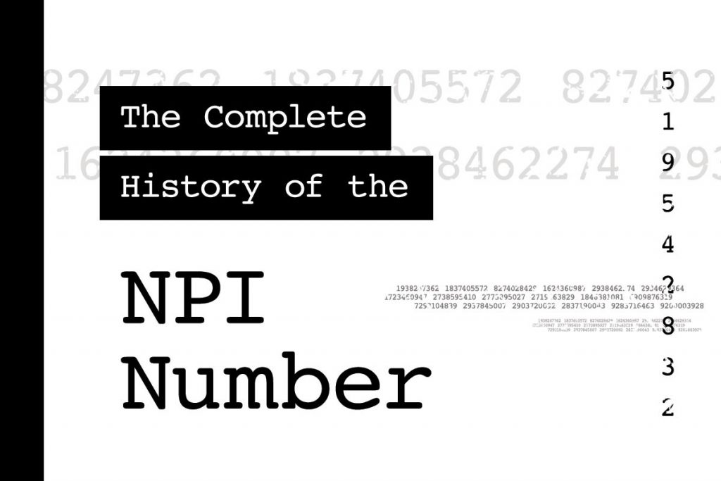 purpose of A NPI number